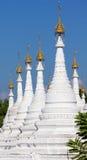 Spiers pagody Sanda Muni świątynia Zdjęcia Stock