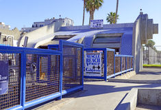 Spierstrand bij het Strand Californië, de V.S. van Venetië Stock Foto
