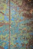 Spierzchniająca kolor powierzchnia na ścianie obraz royalty free