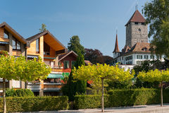 Spiez,瑞士 库存图片