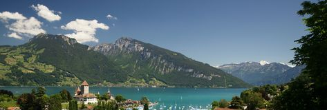 Spiez Royalty Free Stock Images