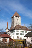 Spiez castle Royalty Free Stock Photography
