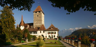 Spiez Castle Royalty Free Stock Images