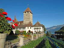 Spiez castle Royalty Free Stock Photo