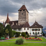 Spiez Castle Royalty Free Stock Image
