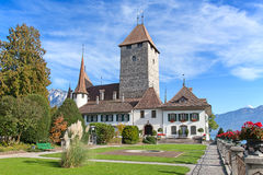 Spiez castle Stock Photos