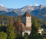 Spiez castle Royalty Free Stock Photo