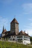 Spiez Castle, Spiez, Switzerland royalty free stock photo