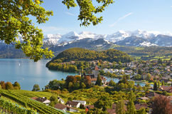 Spiez Castle, Switzerland Stock Images