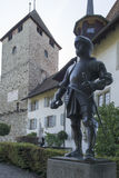 Spiez castle, Switzerland Stock Image