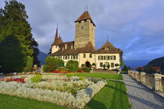 Spiez Castle Royalty Free Stock Photos