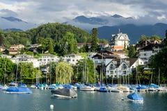 Spiez - la Suisse Photo stock