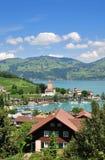 Spiez,Lake Thun,Switzerland Stock Images