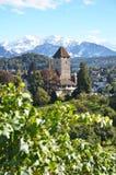 Spiez-Schloss, die Schweiz Stockfoto