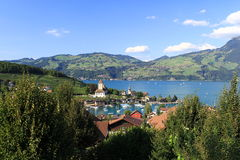 Spiez, Switzerland Stock Image