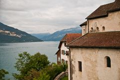 Spiez Thunersee Royalty Free Stock Images
