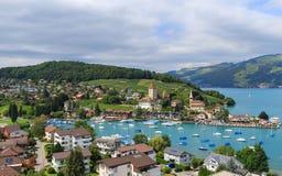 Spiez Zwitserland Royalty-vrije Stock Afbeelding