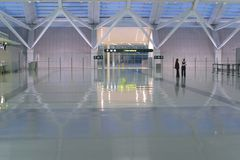 Spiffy airport Royalty Free Stock Image