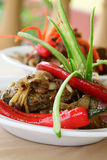 Spify Stir Fried Fish Royalty Free Stock Image