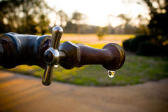 Spigot Dripping royalty free stock image