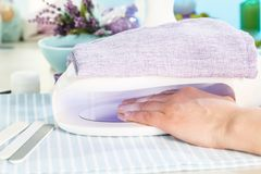 Spijkersalon Royalty-vrije Stock Afbeelding