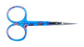 Spika sax med blåa handtag Royaltyfri Bild