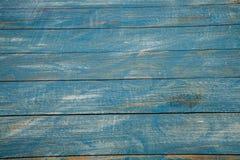 Spikar blå wood bakgrundstextur för tappning med fnuren och hål gammalt målat trä abstrakt bakgrundsblue Royaltyfri Fotografi