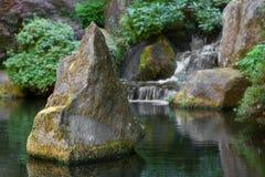 Spike Boulder Waterfall Stock Photos