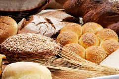 Spike and bread Royalty Free Stock Images