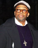 Spike Lee. Director Spike Lee arrives on the red carpet of the Vanity Fair party for the 8th Annual Tribeca Film Festival at the Courthouse at 60 Centre Street Stock Photos