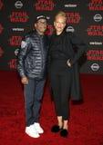 Spike Lee und Tonya Lewis Lee lizenzfreie stockfotografie