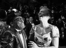 Spike Lee und Tonya Lewis Lee stockfoto
