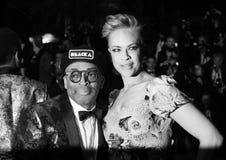 Spike Lee und Tonya Lewis Lee stockbild