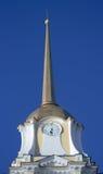 Spike of the Spaso-Preobrazhenskiy cathedral. Rybi Royalty Free Stock Photography