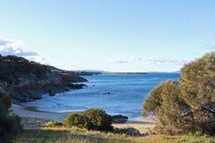 Spikey Beach, Tasmania, Australia. An empty beach named Spikey Beach at Tasmania, Australia Royalty Free Stock Photos