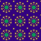 Spiky звёздная картина Стоковые Фотографии RF