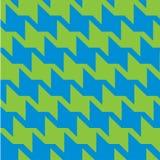 Spiky зигзаг Houndstooth Стоковые Фотографии RF