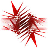 Spiky abstract. Background Stock Photos