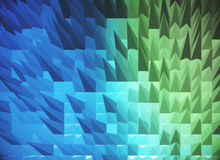 Spiky blue background Royalty Free Stock Photos