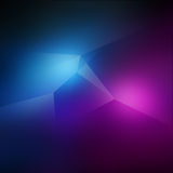 Spiky Blue and Pink Background Stock Images