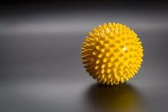 Spiky jaźń masażu piłka Zdjęcia Stock