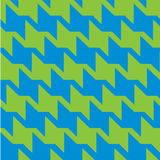 Spiky Zigzag Houndstooth Royalty Free Stock Photos