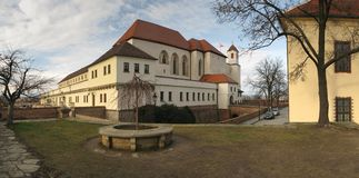 Spilberk castle in Brno Stock Photos