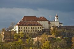 Spilberk Castle, Brno, Czech Republic Royalty Free Stock Images