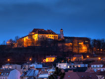 Spilberk castle in Brno, Czech republic Stock Photography