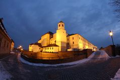 Spilberk castle Royalty Free Stock Photography