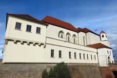 Spilberk Castle in Brno, Czech Republic. Spilberk Castle in Brno, Southern Moravia in the Czech Republic, established in the 13th century. Exterior view on sunny Stock Photo