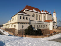 Spilberk castle in Brno Stock Photo