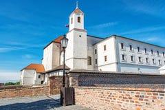 Spilberk castle in Brno, Moravia, Czech republic Royalty Free Stock Photos