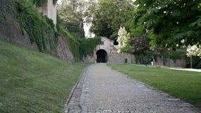 Spilberk Castle. A main entrance of Spilberk castle in Brno Royalty Free Stock Photo